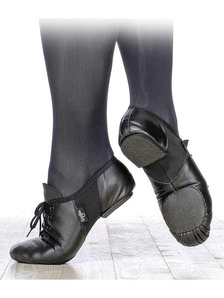 Джазовые полуботинки Grishko, на подскоке со шнуровкой раздельная подошва, кирза, 03068К