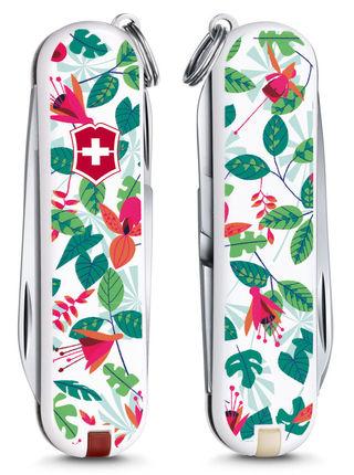 "Нож перочинный Victorinox Classic LE2016 ""Rainforest Walk"" 0.6223.L1601, 58 мм, 7 функций"