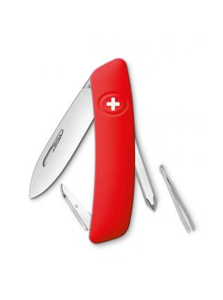 Нож перочинный Swiza D02, 75 мм, 6 функций, с фиксатором лезвия