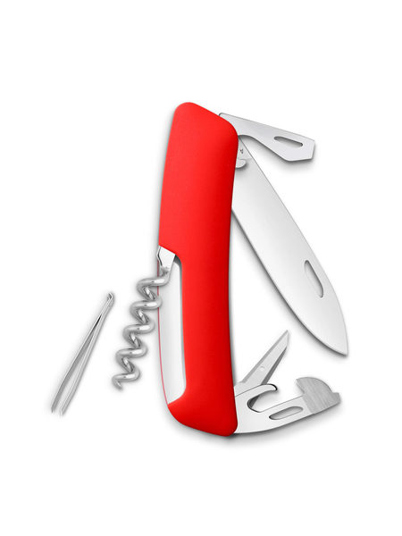 Нож перочинный Swiza D03, 75 мм, 11 функций, с фиксатором лезвия