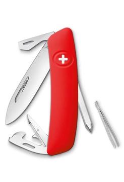 Нож перочинный Swiza D04, 75 мм, 11 функций, с фиксатором лезвия