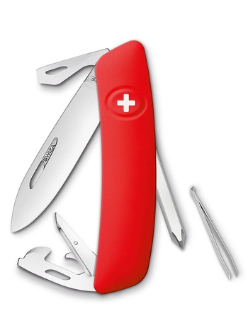 Нож перочинный Swiza D04, 75 мм, 11 функций
