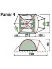 Палатка RockLand Pamir 4 2014 (4 места)