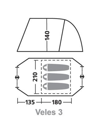 Палатка Greenell Велес 3 (3 места)